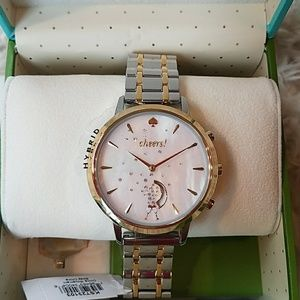 NWT! Kate Spade Cheers Mother of Pearl Watch